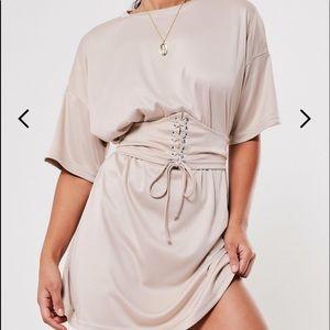 Misguided Corset T-shirt Dress